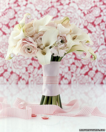 Wedding Bouquets by Color White