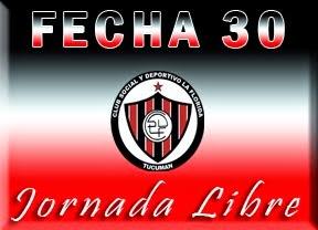 FECHA 30  - LIBRE