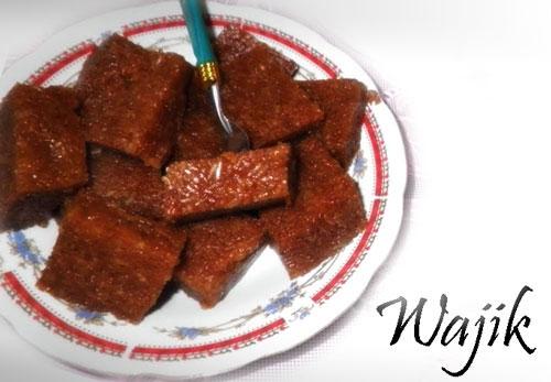 Makanan Minuman Istimewa: Kue Wajik Ketan Gula Jawa