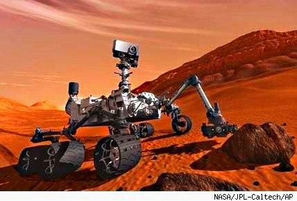 el rover curiosity