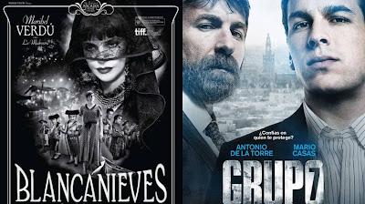 'Grupo 7' y 'Blancanieves', las favoritas en los Goya 2013. +CINE. Making Of