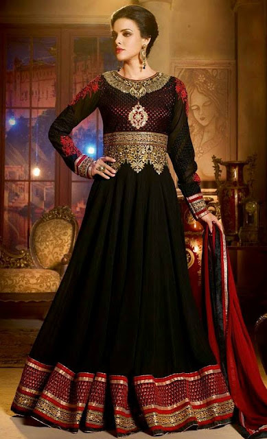 Ethnic Anarkali Dresses 2015 For Indian Parties