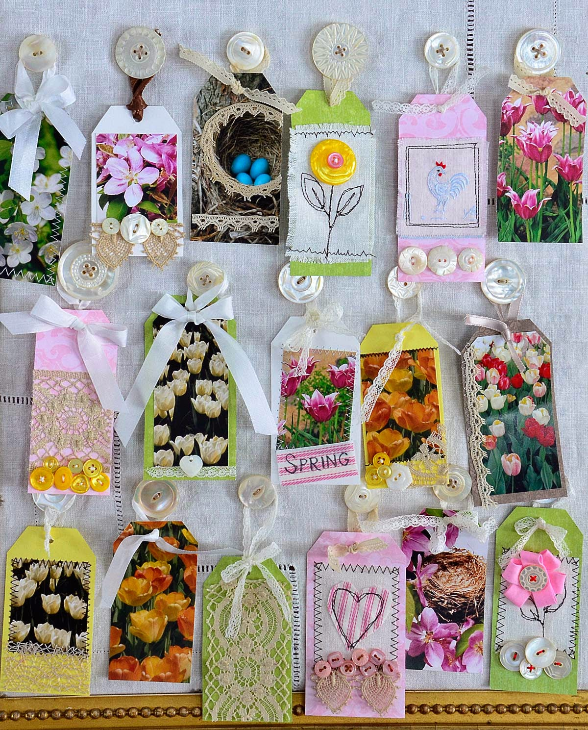 Click below to see a Spring gift tag project!