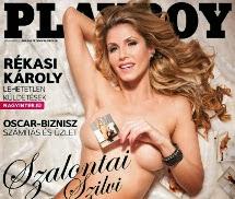 Szalontai Szilvi Playboy Hungria Março 2014