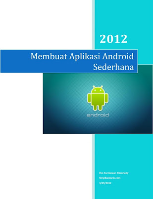 Download eBook Cara Membuat Aplikasi Android Sederhana