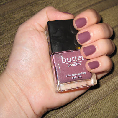 butter LONDON, butter LONDON nail polish, butter LONDON Toff, butter LONDON Autumn-Winter 2011 Collection, butter LONDON Autumn-Winter 2011 Collection Toff, nail, nails, nail polish, polish, lacquer, nail lacquer, mani, manicure, mani of the week