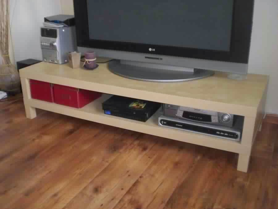 Meuble tele bois ikea table de lit - Ikea meuble tv noir ...