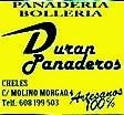 DURÁN PANADEROS