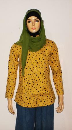 Grosir Baju Muslim Murah Online Tanah Abang Baju Polkadot
