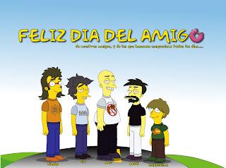 Día amigo Simpsons