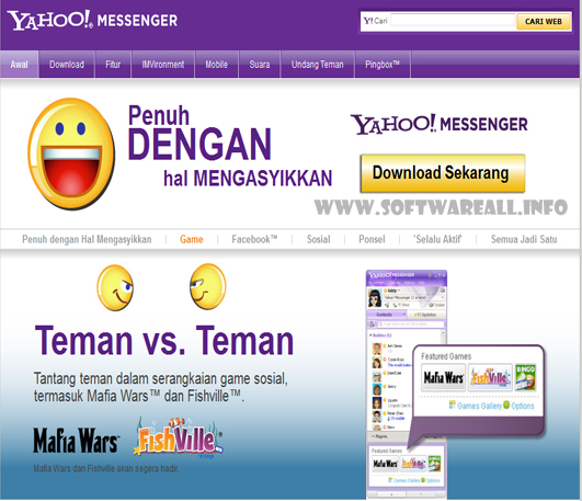 Download Yahoo Messenger 11.5 Us