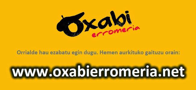 OXABI erromeria taldea