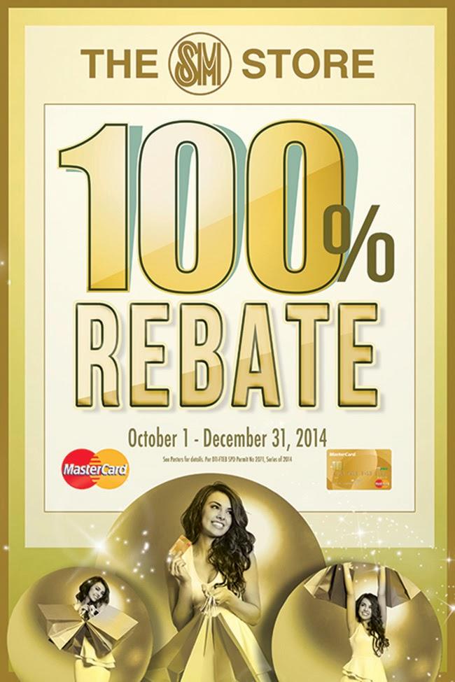 The SM Store 100% Rebate Promo