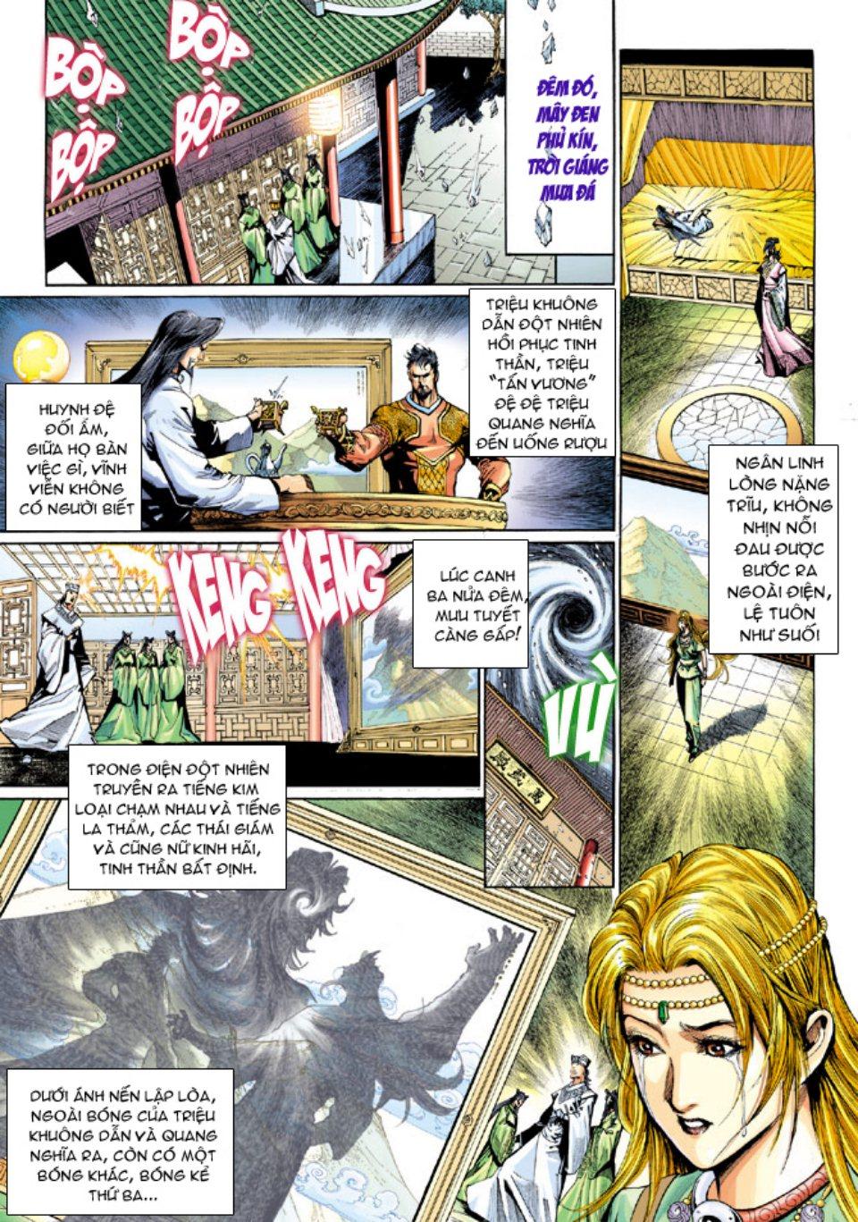 Thiên Tử Truyền Kỳ 5 - Như Lai Thần Chưởng chap 214 - Trang 30