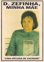 Cordel: Dona Zefinha, Minha Mãe. nº 50. Janeiro/2007