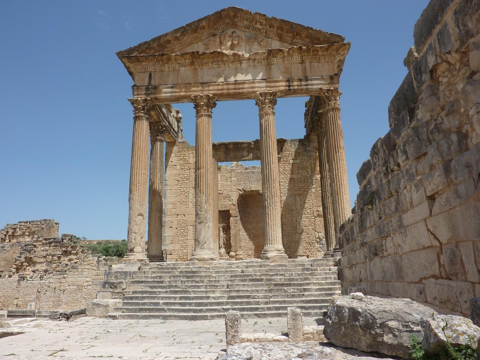 тунис дугга храм