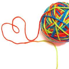 em pezinhos de lã