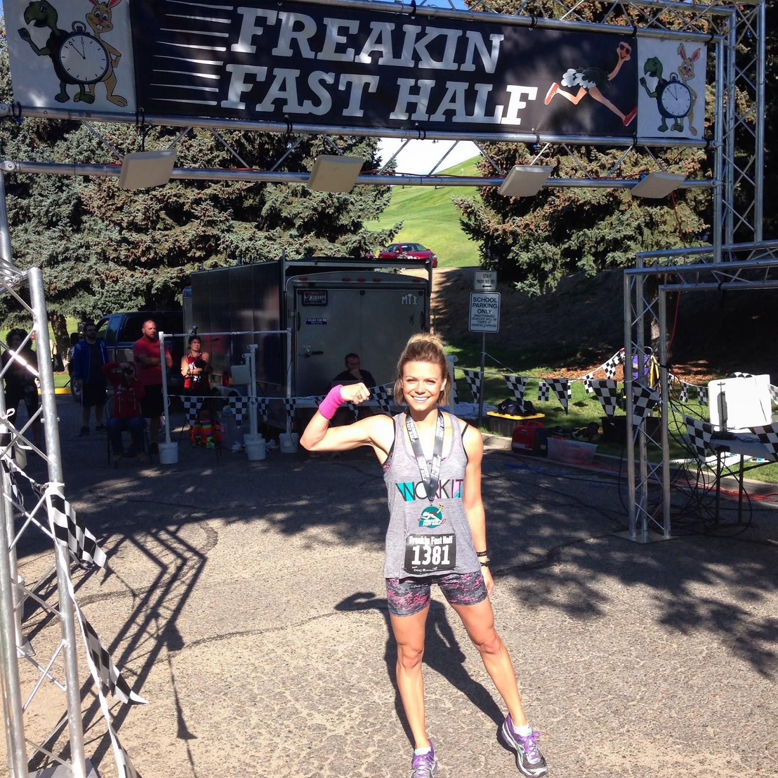Freakin' Fast Half Marathon, Boise Runner, Downhill Half Marathon