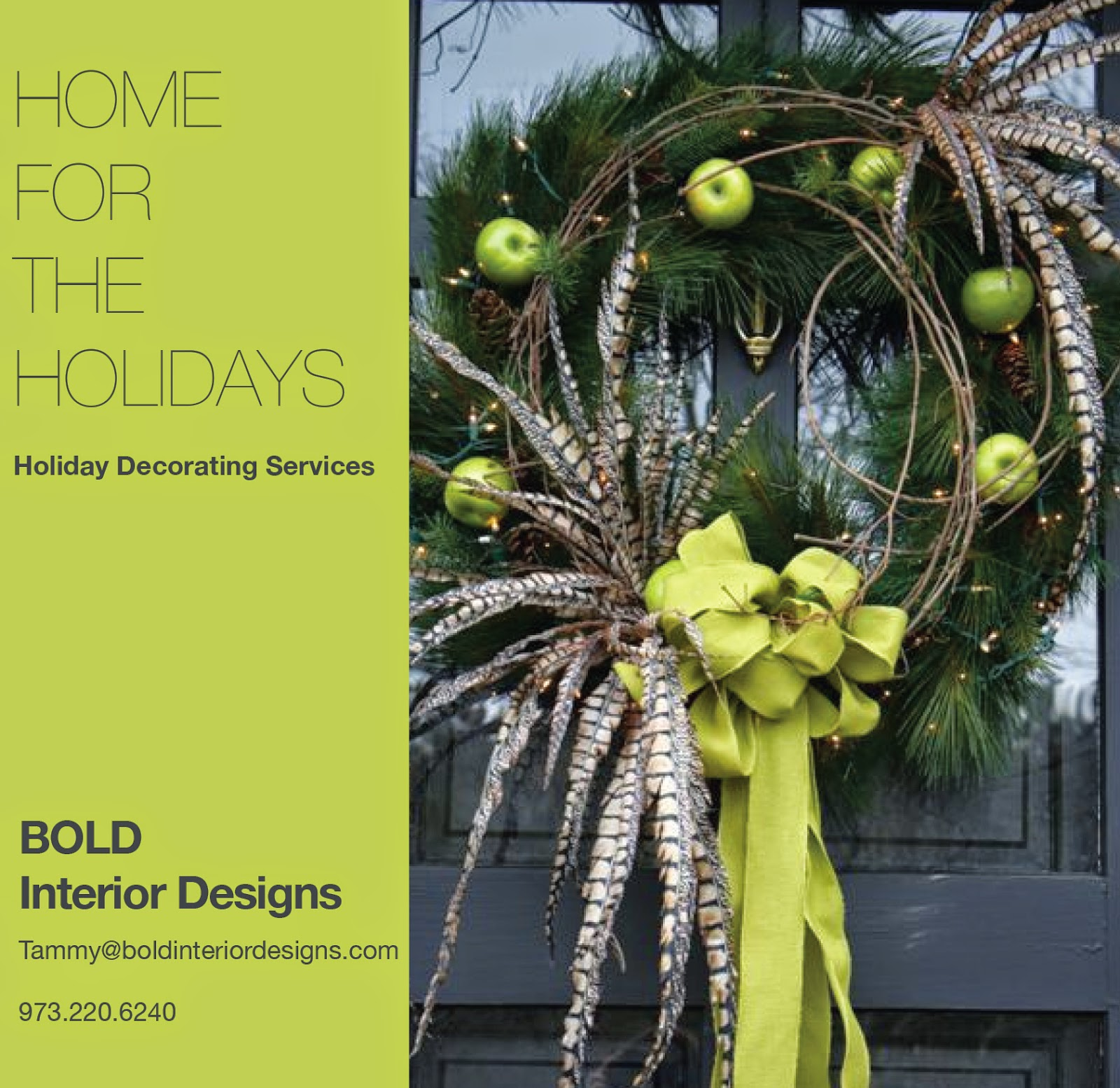 The Bold And The Beautiful Holiday Decorating Services