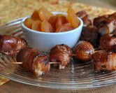 Bacon-Wrapped Dried Apricots