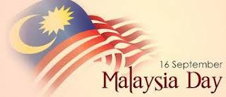 Selamat Hari Malaysia, 16 September 2013