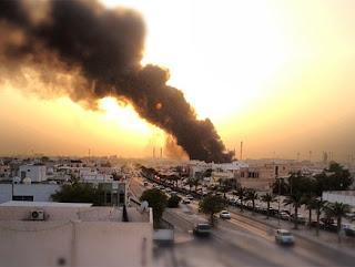 حريق السوق الشعبي في مملكة البحرين 15-7-2012