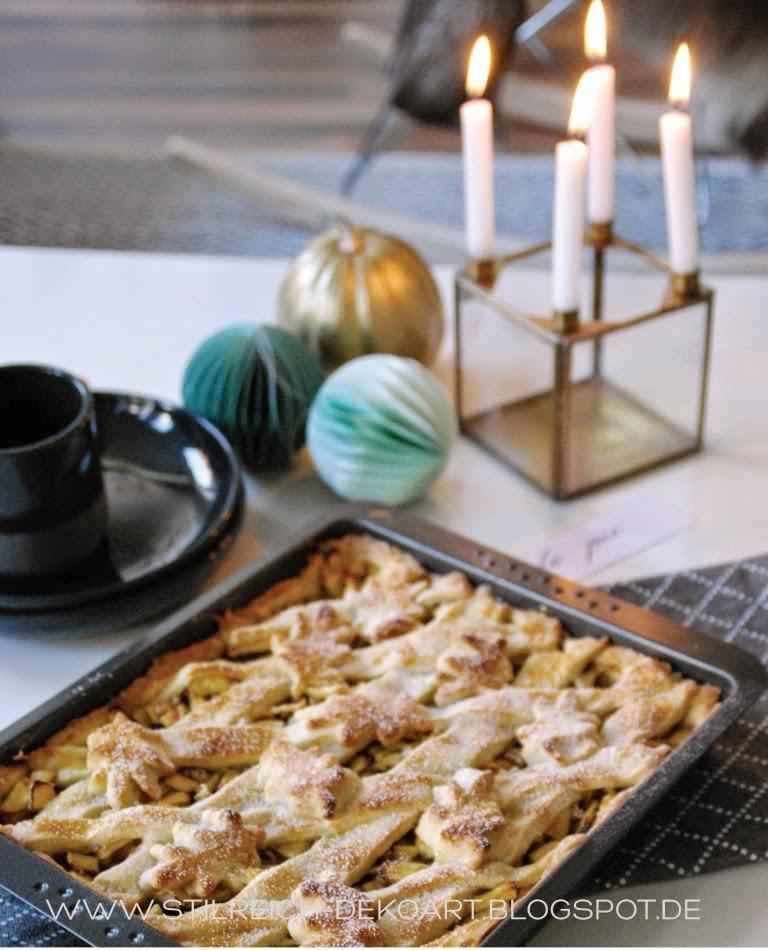 Herbstlicher apple pie und gr n gold grau s t i l r - Stilreich instagram ...