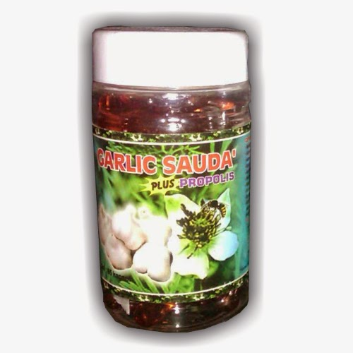 Garlic Sauda plus Propolis GROSIR HERBAL PURWAKARTA
