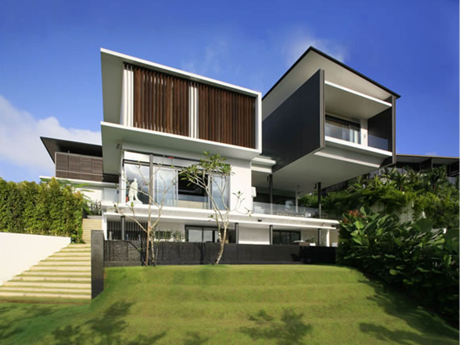 Colorful Modern House Pictures Hd Wallpapers