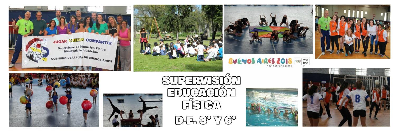 Supervisión Educación Física D.E. 3° y 6°