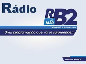 A Rádio RB2 é nossa parceira