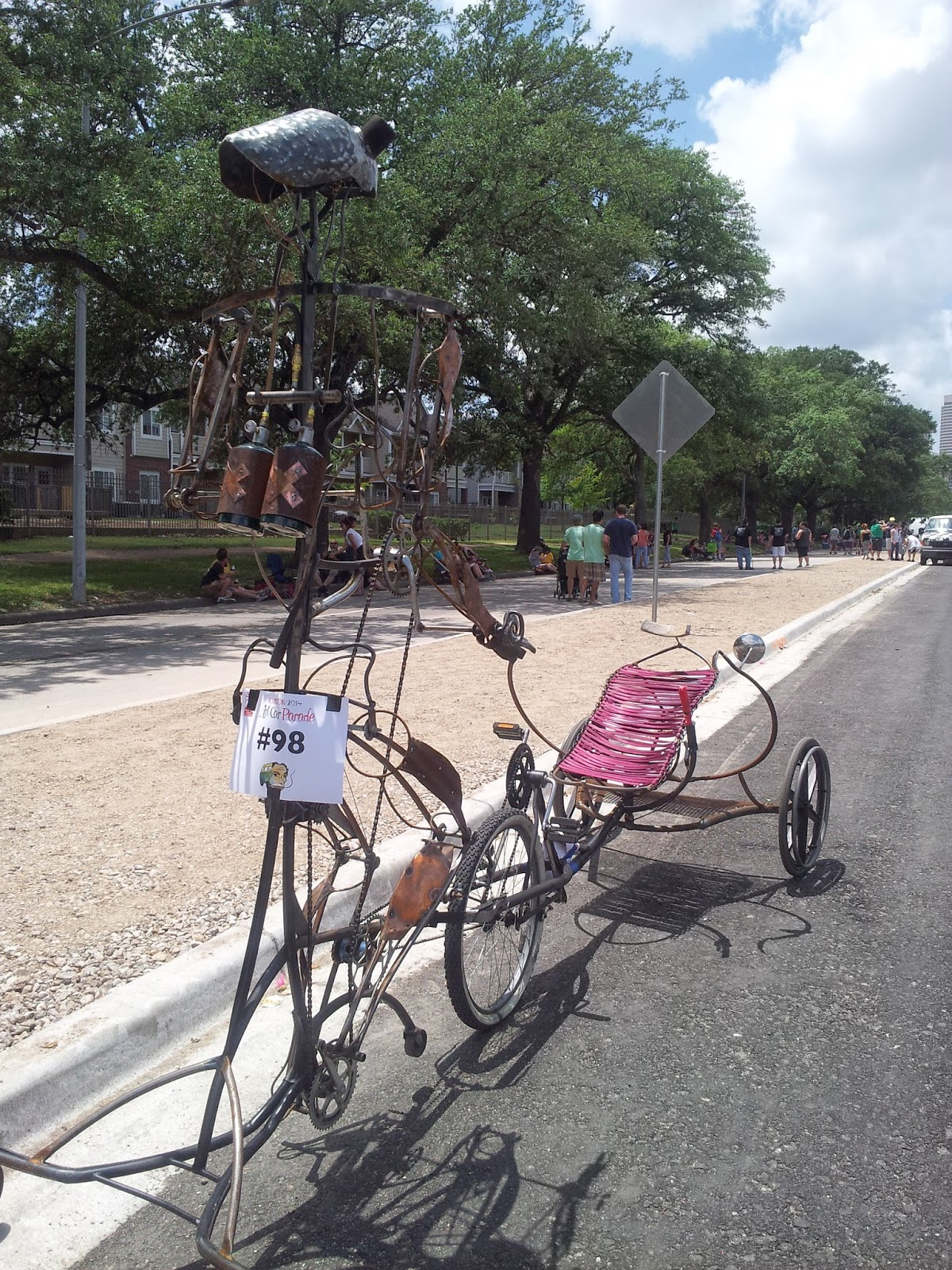 Customized bicycles, Houston Art Car Parade