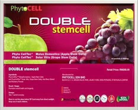 double stemcell - 4 kotak rm330