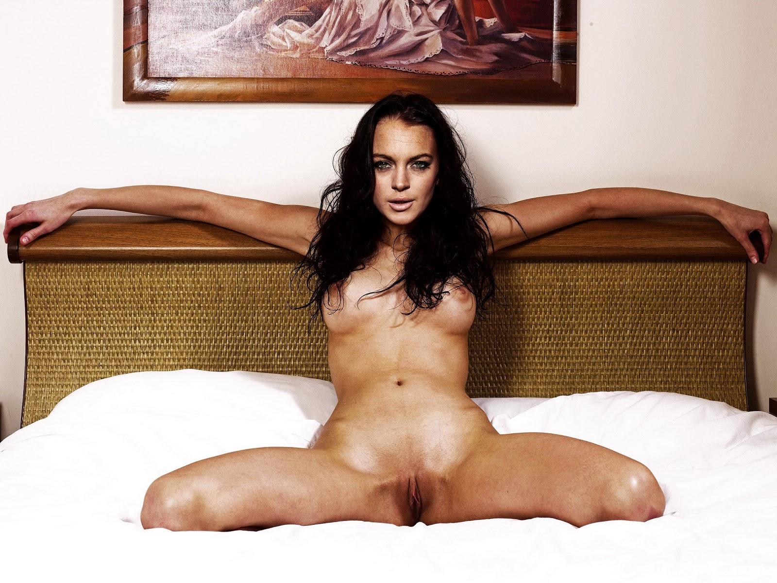 Lindsay Lohan- The Canyon Nude