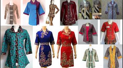 model baju endek modifikasi dan kombinasi