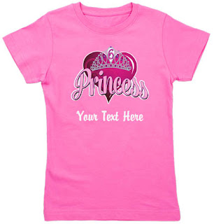 All Our 6 Year Old Princess Birthday Tshirts And Gear