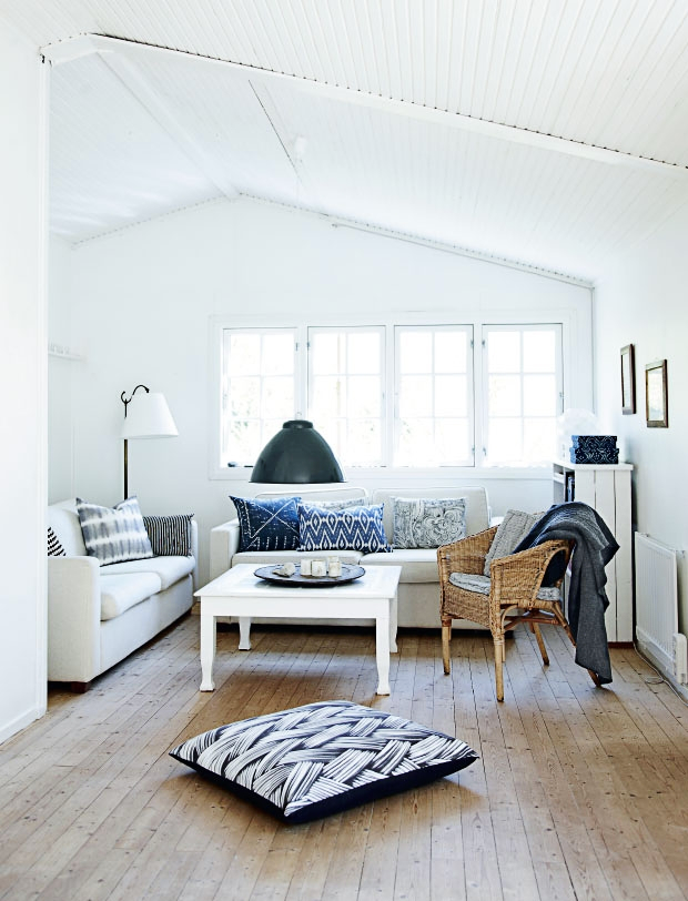 The summer retreat of the Danish stylist