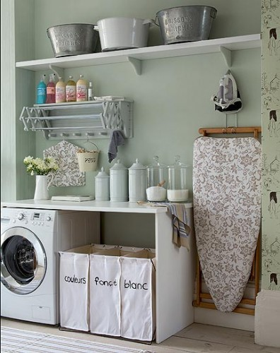 ... de inspiración para su futuro proyecto de decoración de lavandería