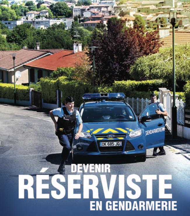 Devenez réserviste en Gendarmerie