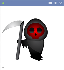 Grim specter FB emoticon