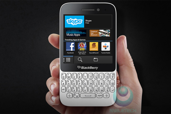 Spesification and price Blackberry Q5
