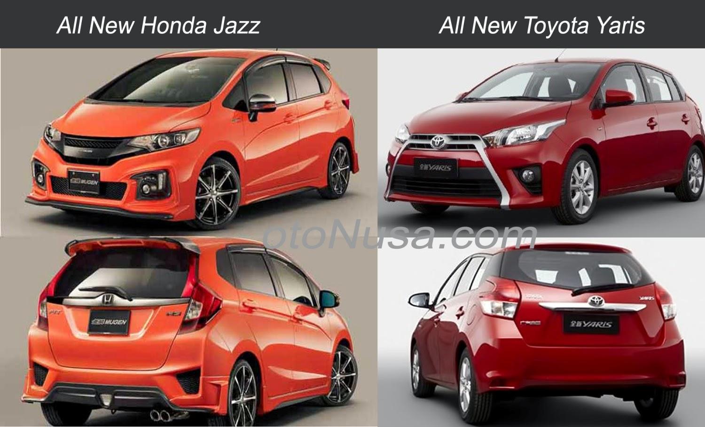 Toyota Yaris honda jazz 2013 год сРавнение #7