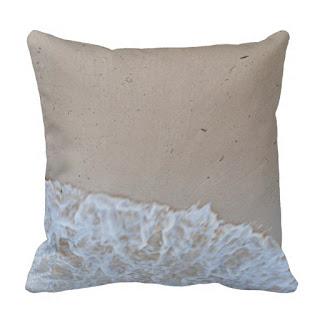 Caribbean home decor accent throw pillow