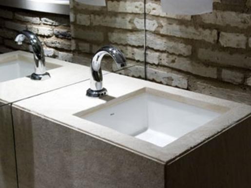 Bia Carvalho Arquitetura e Decoração Banheiros parte 1  Bancadas, cubas e v -> Cuba Para Banheiro Quadrada De Embutir