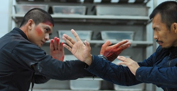 Iko Uwais in fight scene in The Raid 2 Berandal