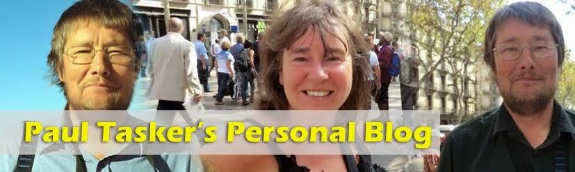 Paul Tasker's Personal Blog