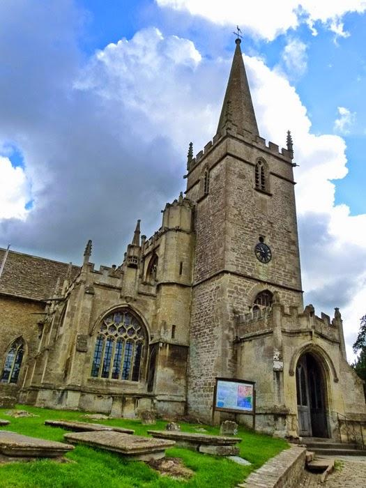 St Cyriac, boy saint, Lacock, church, Wiltshire