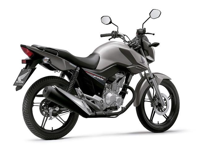 Honda CG 160 2016 - Fan - traseira