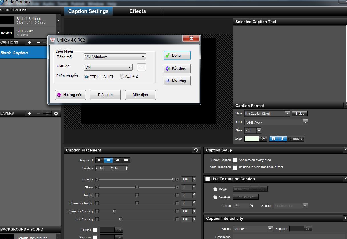 Hướng dẫn cách sửa lỗi Font chữ ProShow Producer