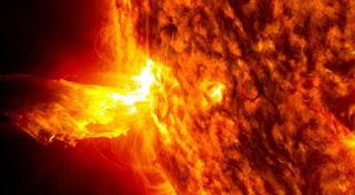 Bumi Terancam Mendapat Terpaan Partikel Dampak Badai Matahari